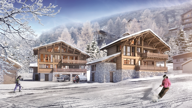 tignes mountain resort property - exterior