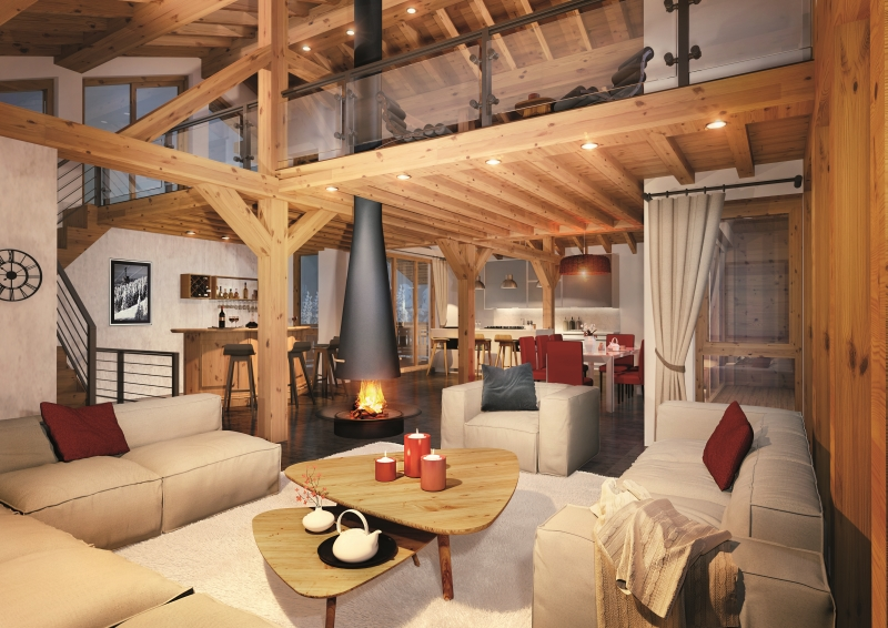 tignes mountain resort property - interior