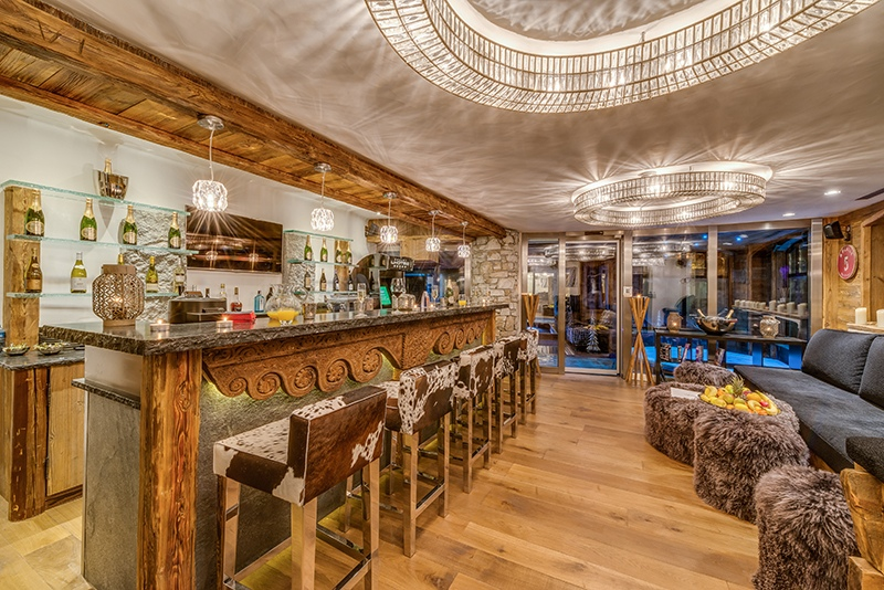 val d'isere mountain resort property - bar