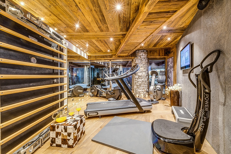 val d'isere mountain resort property - gym