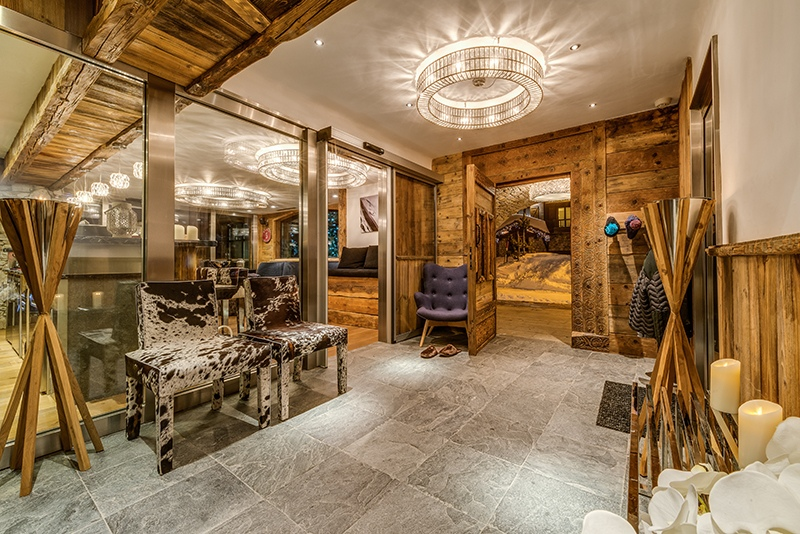 val d'isere mountain resort property - interior