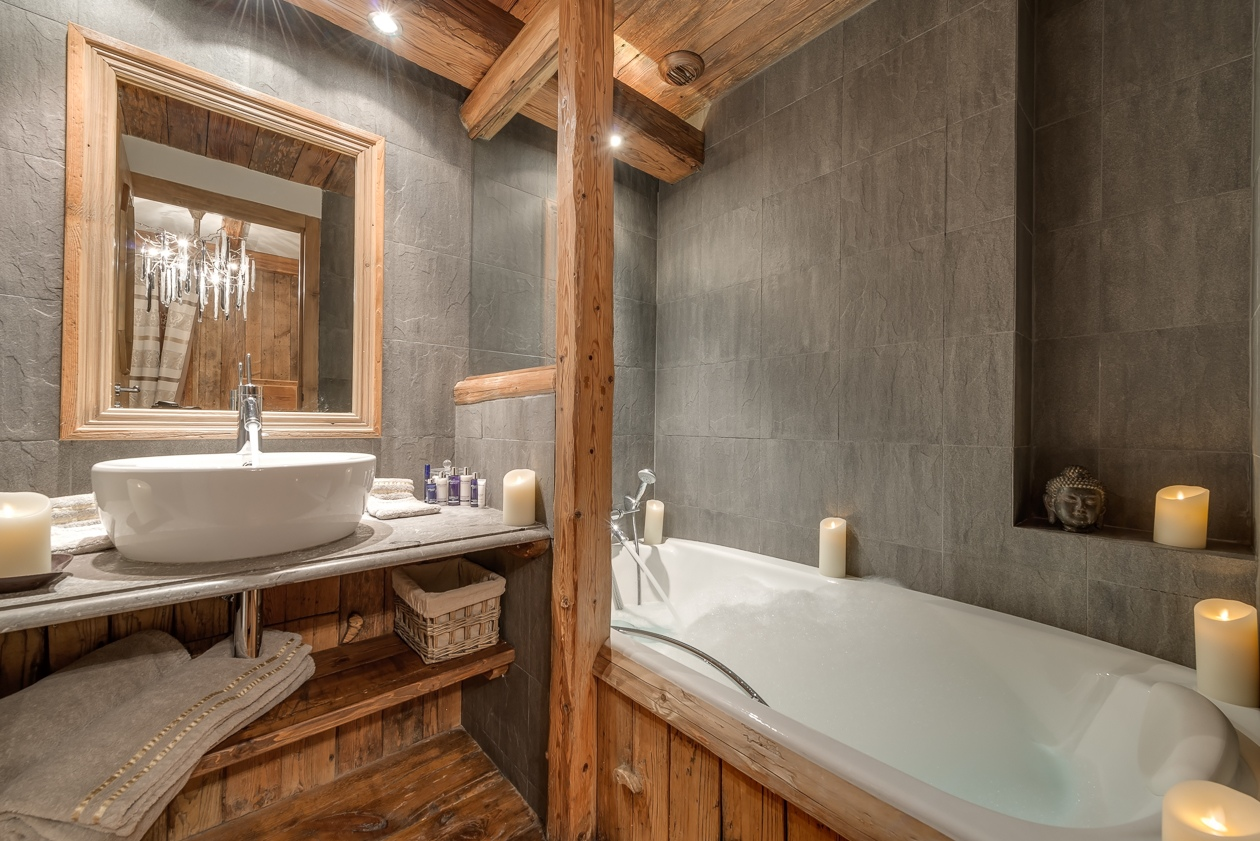 val d'isere mountain resort property - bathroom