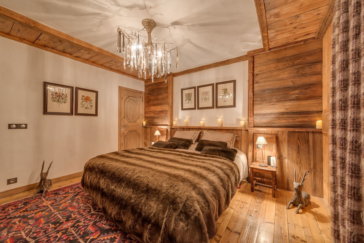 val d'isere mountain resort property - bedroom