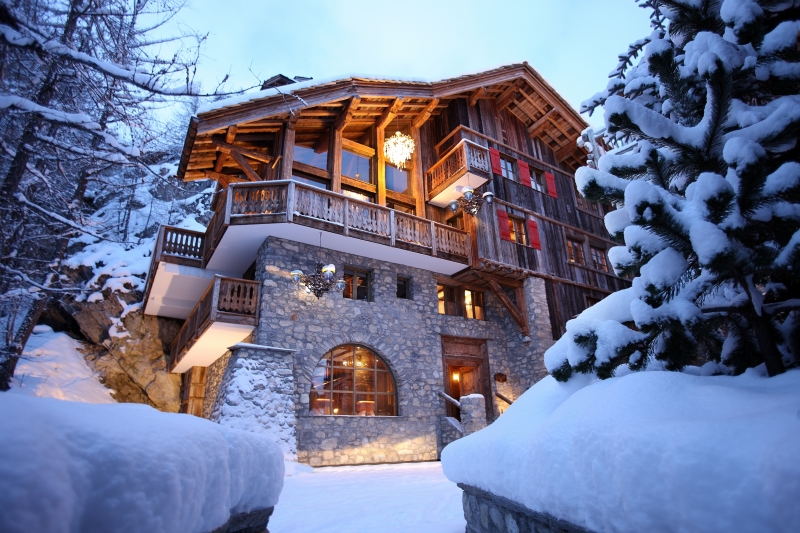 val d'isere mountain resort property - exterior