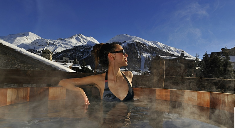 val d'isere mountain resort property - spa2
