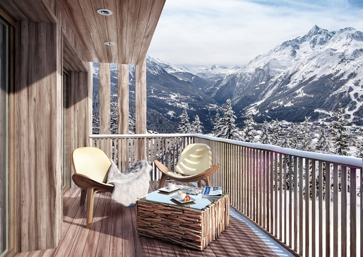 la rosiere mountain resort property - exterior