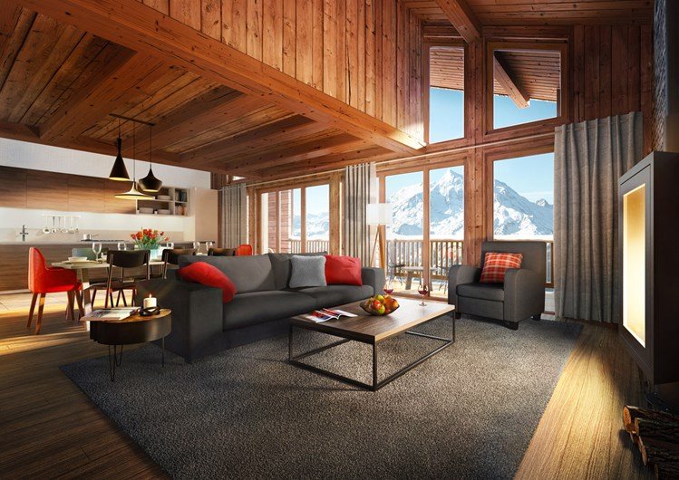 la rosiere mountain resort property - interior