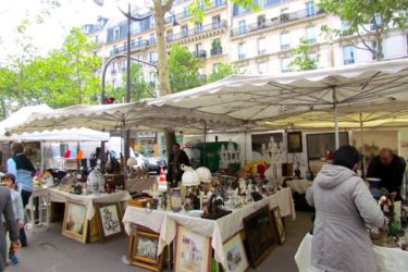 Vide Greniers and Brocantes in Paris