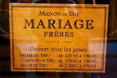 Thé Mariage Frères