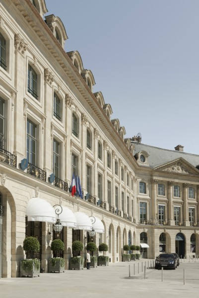 IMAGE: Facade of the Ritz Paris
