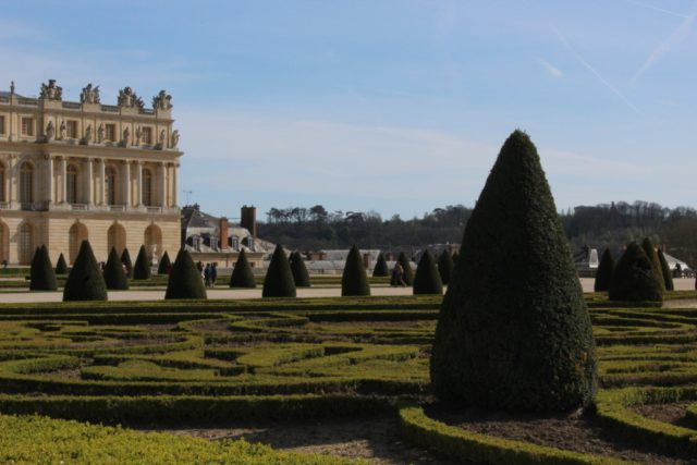 IMAGE: Topiary in the gardens at the back of the palace