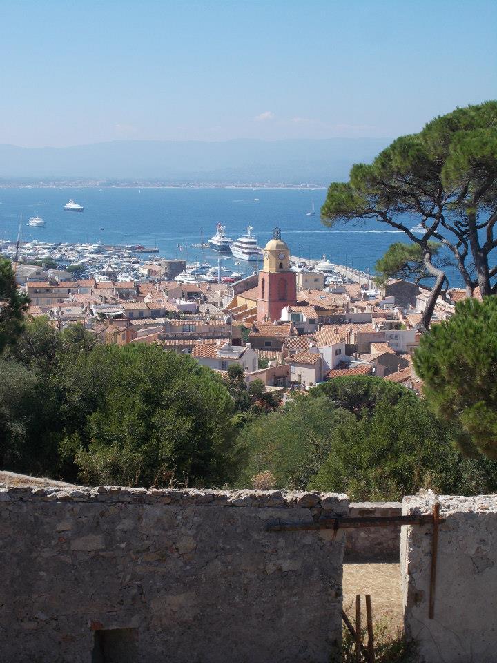IMAGE: Overlooking the harbour of Saint-Tropez