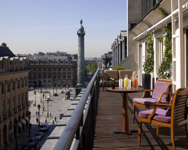 IMAGE: View from The Park Hyatt showing Place Vendôme