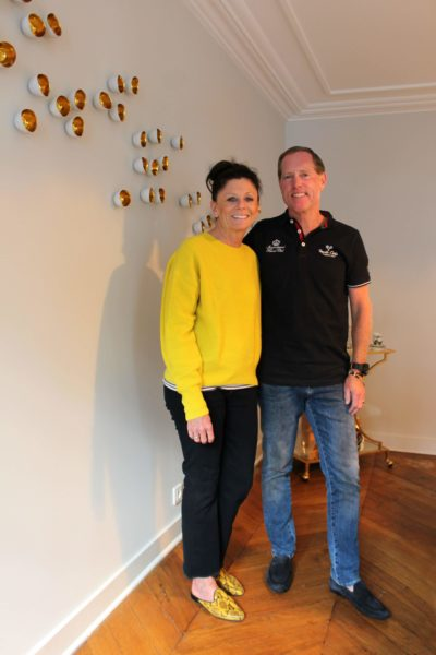 IMAGE: Eric and Joan Davidson after the renovation