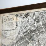 IMAGE: Antique map of Paris