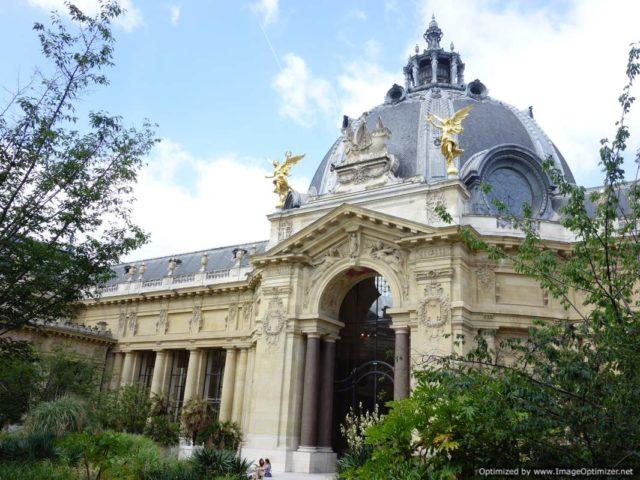 IMAGE: The main entrance of the Petit Palais in Paris