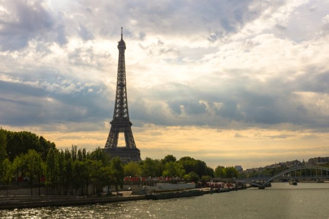 IMAGE: View of Eiffel Tower and the Seine