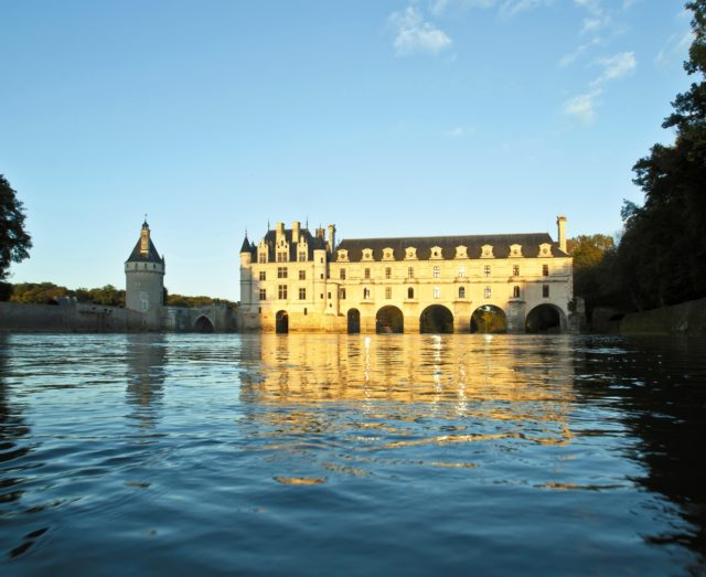 IMAGE: Looking across the water to Chenonceau in the Loire