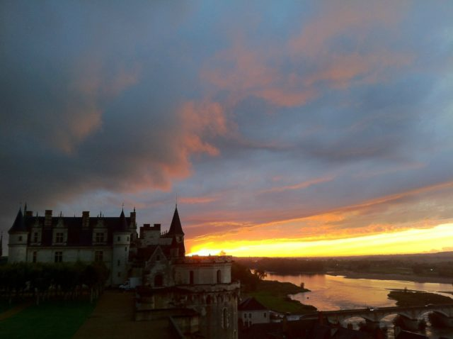 IMAGE: View from Blois across the Loire