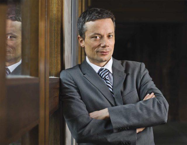 IMAGE: Professor Randall Hansen pictured at the University of Toronto