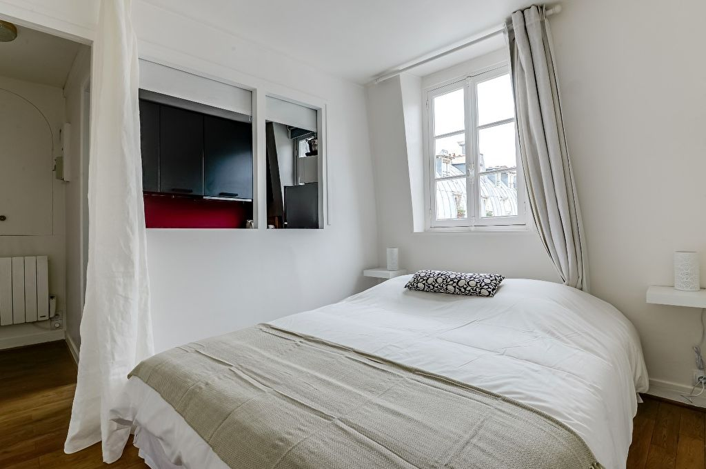 IMAGE: Bedroom of Professor Hansen's apartment, which is looked after by the property management service of VINGT Paris