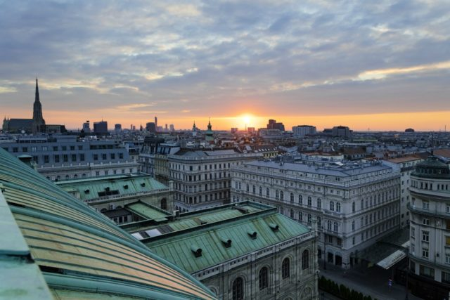 IMAGE: View over the rooftops of Vienna