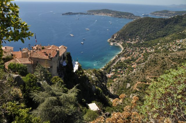IMAGE: Pic showing the panoramic view from Èze