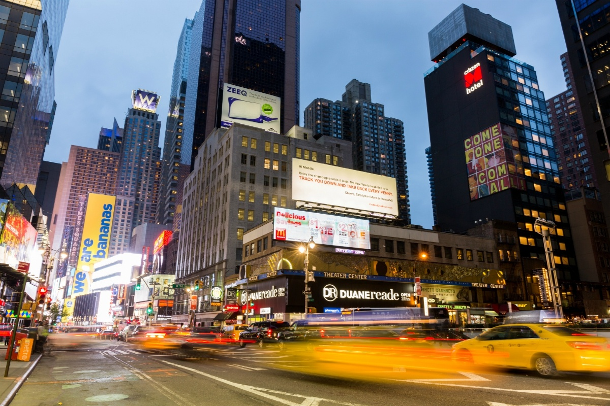 IMAGE: Citizen M hotel in Times Square, New York