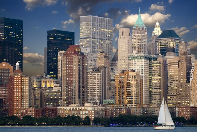 IMAGE: The famous skyline of New York