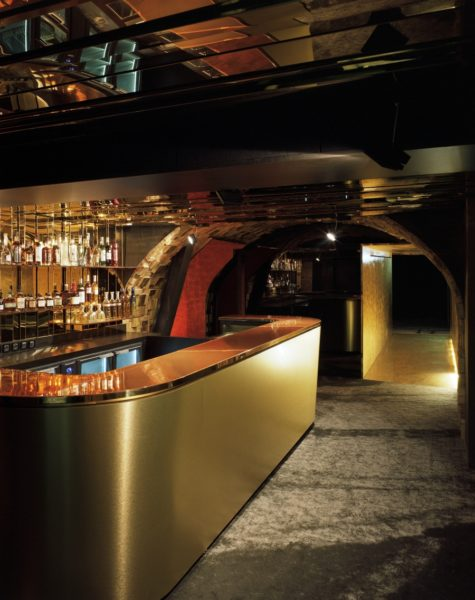 IMAGE: The atmospheric bar area at the SILENCIO private members' club