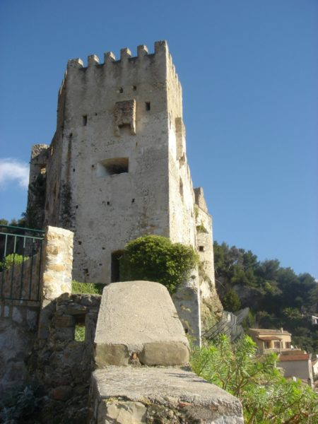 IMAGE: The 10th-century castle turret in Roquebrune-Cap-Martin