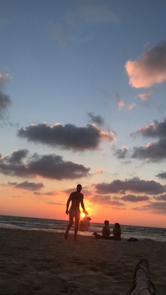 IMAGE: Tel Aviv also offers beautiful sandy beaches