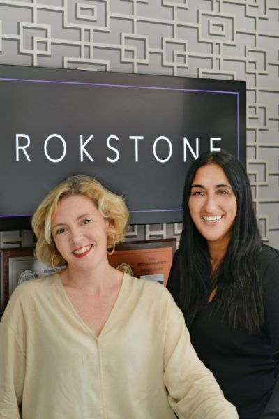 IMAGE: Susie and Becky at Rokstone's head office