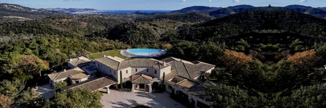 IMAGE: View over Domaine de Provence towards the Bay of Cannes