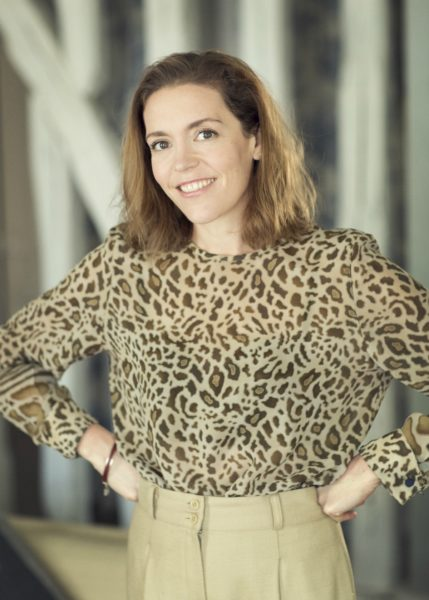 IMAGE: Founder and CEO of VINGT Paris, Susie Hollands, who has lived in Paris for over 15 years