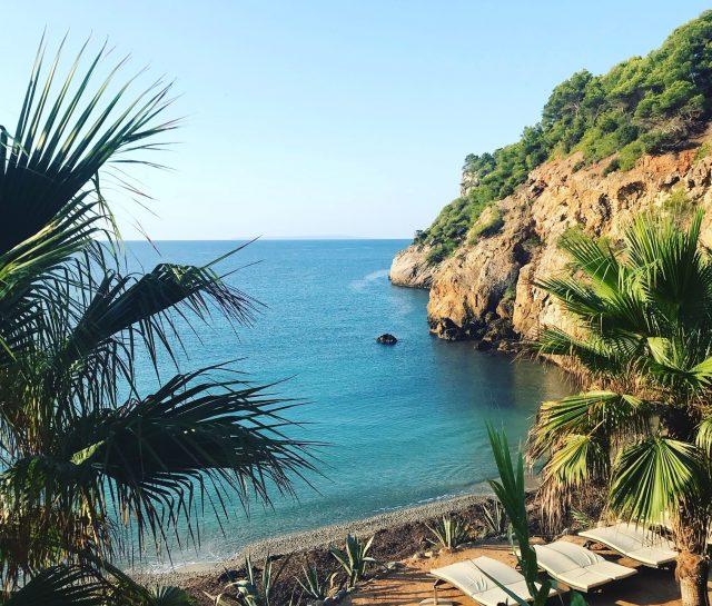 IMAGE: A small hidden beach in Ibiza