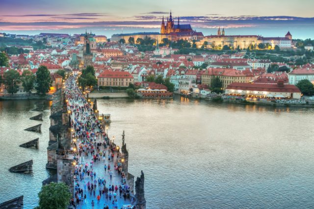 IMAGE: Panoramic view over Budapest