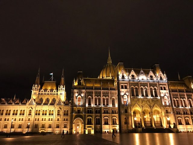 IMAGE: The Parliament building in Budapest