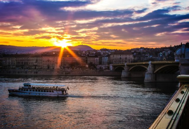 IMAGE: View over the river Danube in Budapest