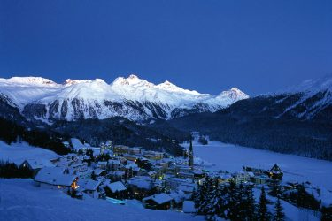 St. Moritz: The height of skiing chic
