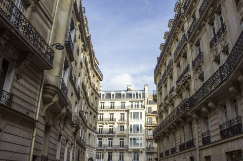 A classic Parisian street - where you will find less short-term rentals than in the past