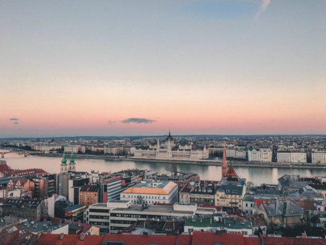 A panoramic shot of the Budapest skyline to accompany our article on buying a property in the city
