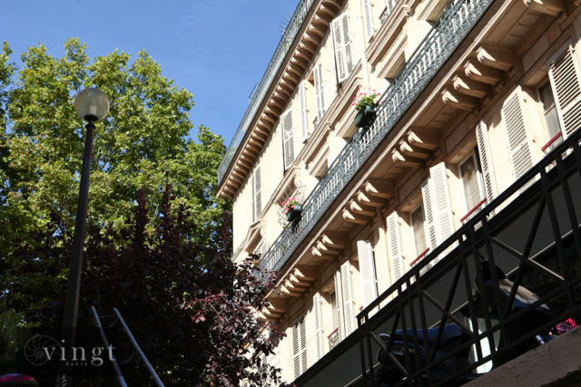 View of a typical Paris property to accompany our article 'A message for our buyers'