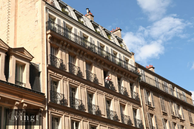 Photo of typical Paris apartments to accompany our message to property-owners (Photo © VINGT Paris)