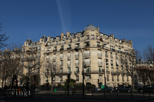 Photo of typical Parisian apartments to accompany our message to tenants (Photo (C) VINGT Paris)